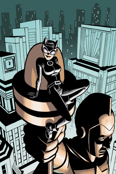 catwoman 23 art only