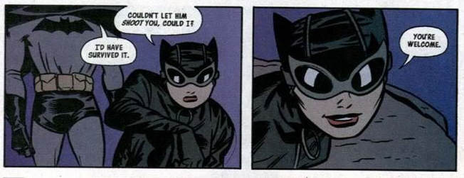 catwoman and batman yw