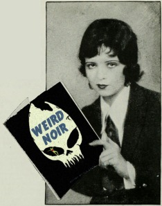 "Clara Bow says, ""Reading is fundamental."""