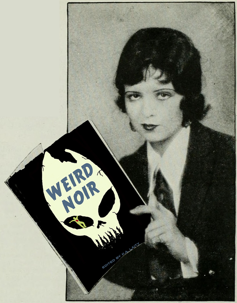 clara bow reading weird noir