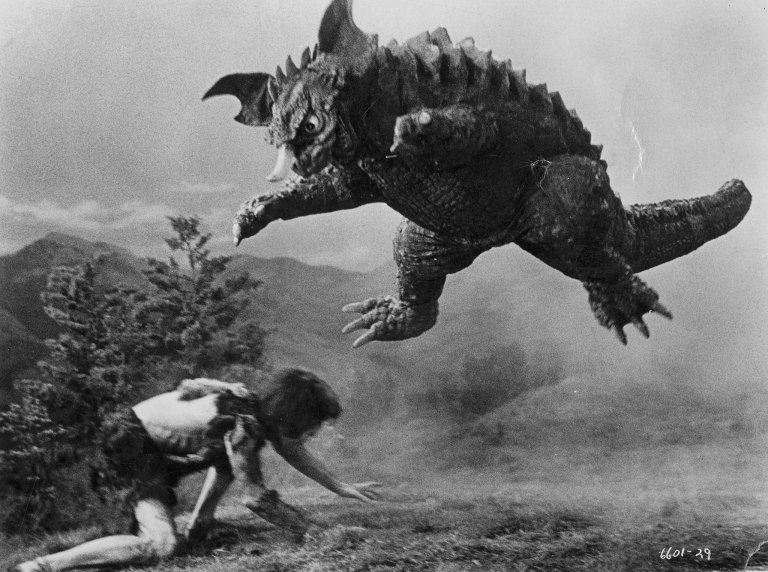 baragon vs. frankenstein