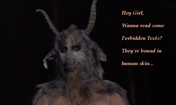 baphomet hey girl 1