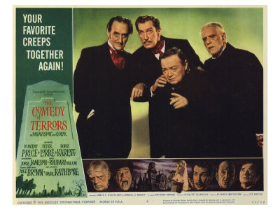 comedy of terrors poster