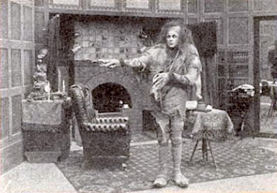 frankenstein 1910 monster standing