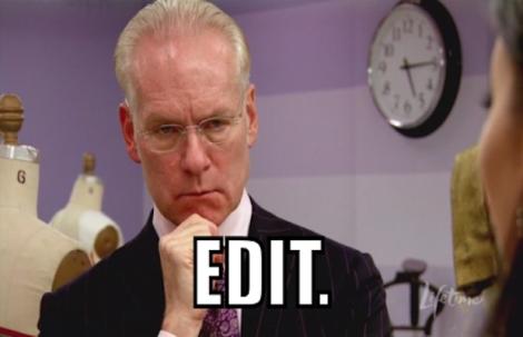 Tim Gunn edit
