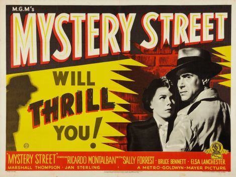 Mystery Street 1950 poster