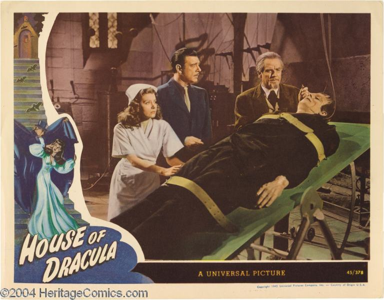 house of dracula nina lobby card