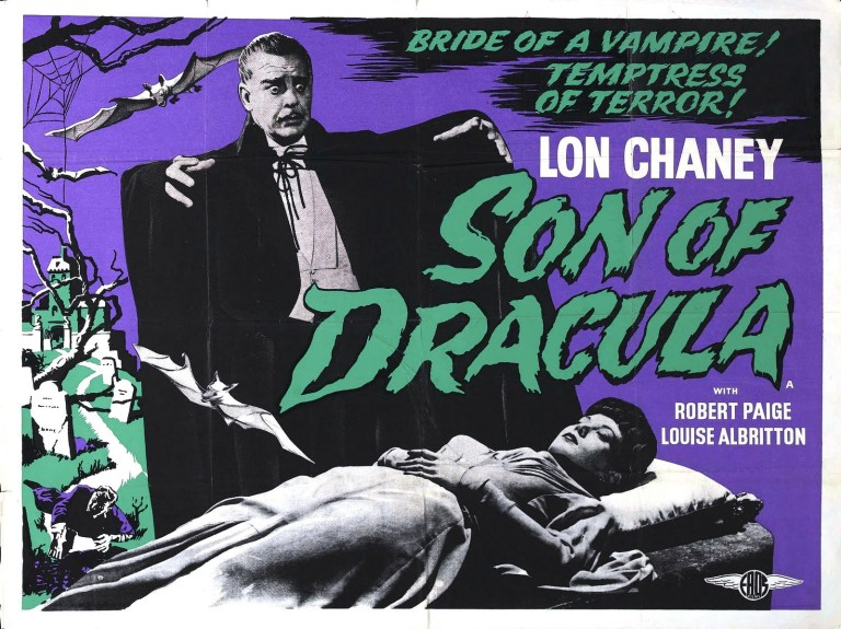 son of dracula lobby card