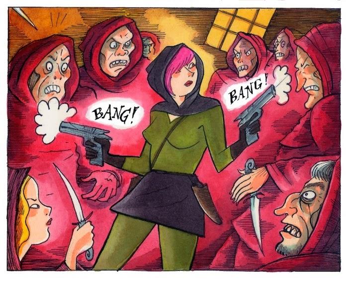 sala violenzia guns cult