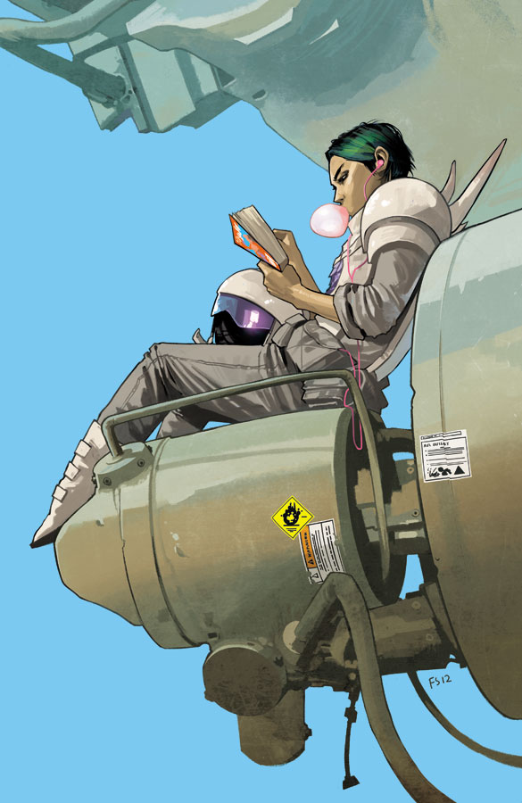 Saga 8 cover reading