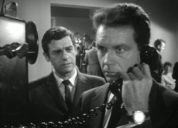 Alan receives a call that there is trouble at the station. He waits approximately 45 min. before going there.