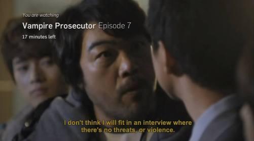 vampire prosecutor ep 7 no threats