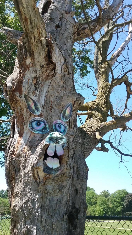 2017 spring rabbit tree