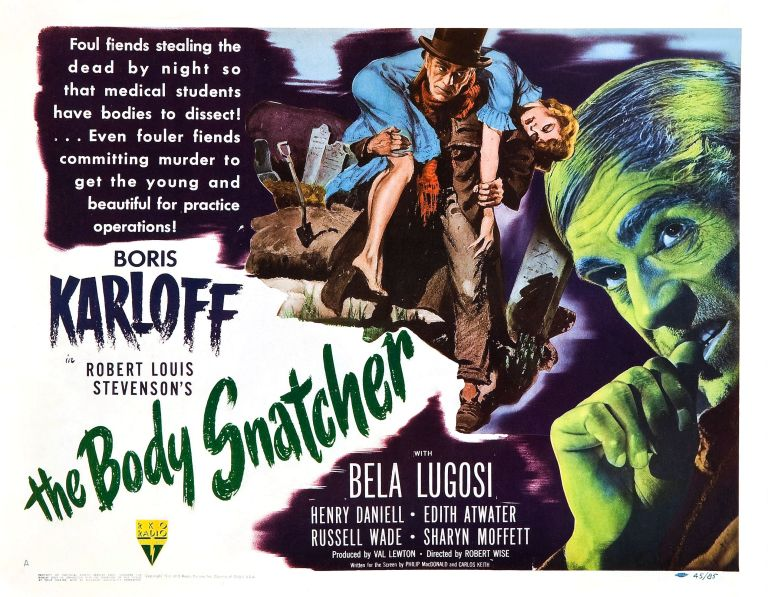 the body snatcher 1945 poster