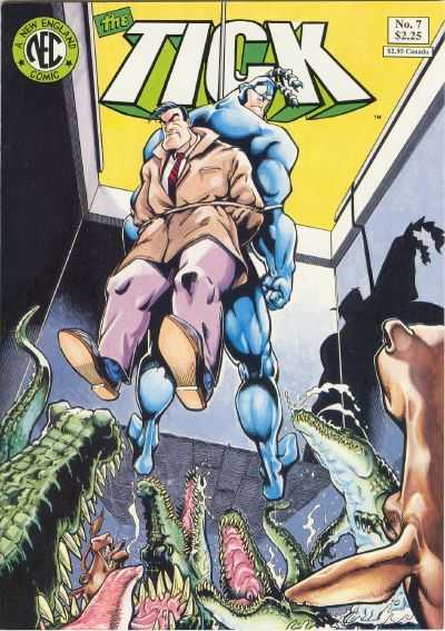 the tick 7 cover