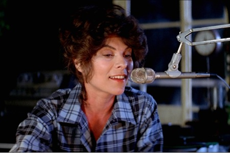 Adrienne Barbeau is on the air